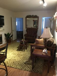 Photo for April weekday $139 per ngt great for 3 couples,Walk to town, WIFI, balcony, pool