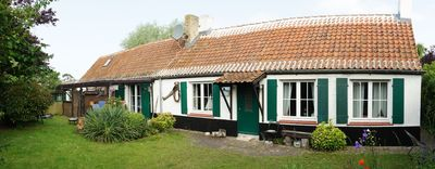 Photo for Rustic cottage near the beach on Ortstand of Oostduinkerke.