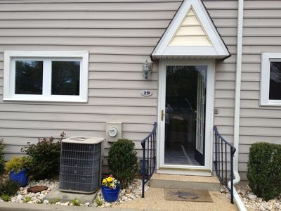 Photo for Remodeled townhome, walk to town and beach