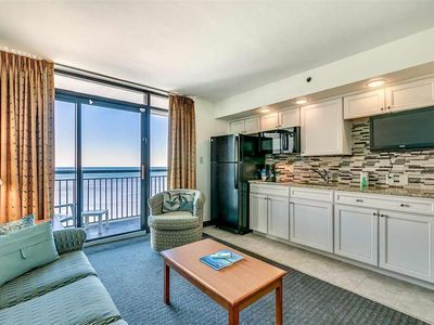Photo for Magnificent Ocean Views from 15th Floor Beach Cove Paradise.Beachfront.Views!