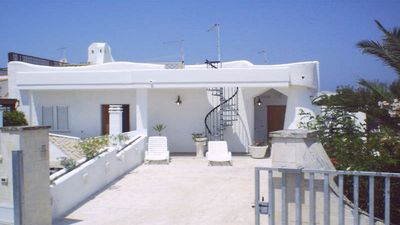 Photo for Book Now villa with Sea View Terrace, 2 Bedrooms: Family Holidays in Salento