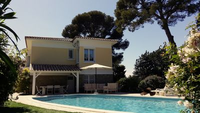 Photo for House / Villa - Saint-Raphaël Villa with swimming pool in 200m of the sea