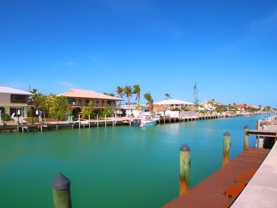 Photo for 10% off! Vitamin Sea Duplex🌊 Key Colony Beach, Waterfront views, Private Dock