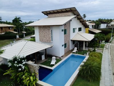 Photo for Casa Branca - Large and beautiful house in Ipioca (Hibiscus)