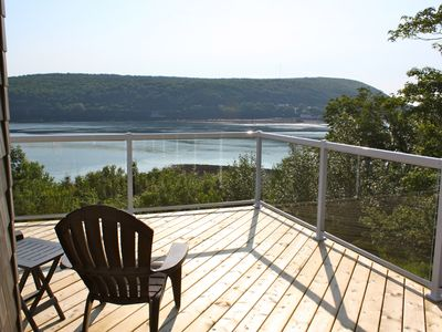 Photo for Oceanfront Vacation Home, minutes from Downtown Digby