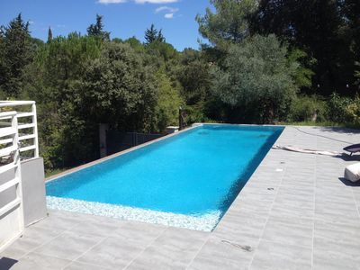 Photo for very modern house super quiet for quiet holiday with a swimming pool