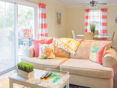 """Photo for Pet-friendly & """"beachy."""" The perfect Tybee Island getaway."""