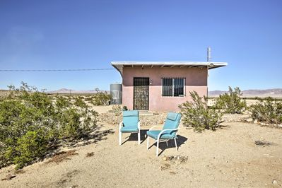 Situated on 5 acres, you'll have ample privacy and fantastic desert views.