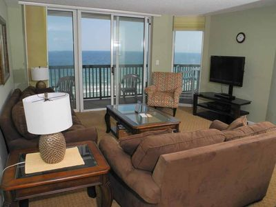 Photo for Ashworth Unit 709! Stunning Ocean Front Condo! Book your get away today!