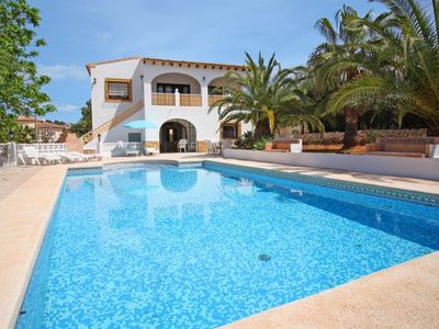 Photo for 6 bedroom Villa, sleeps 13 with Pool, Air Con, WiFi and Walk to Beach & Shops