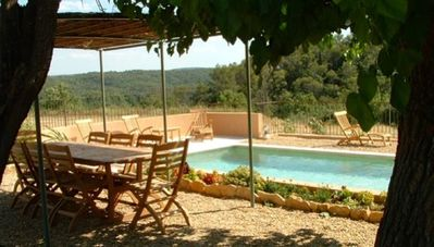 Photo for Renting a boutique winery in Mazet in Entrecasteaux. Swimming Pool.