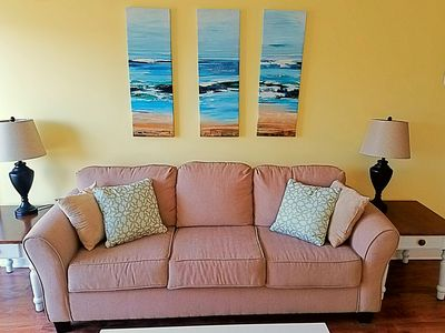 Photo for Two Bedroom Ocean View Condo Golf Special rates