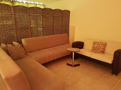 Photo for Chalet in sunrise beach club in north cyprus magical place very convenient for