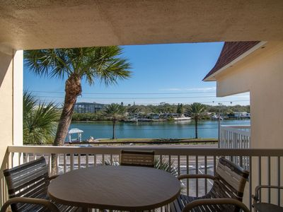Photo for Recently Renovated 3rd Floor 1/1 Condo, Intracoastal View, Steps to the Gulf of Mexico
