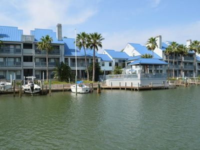 Photo for Smart Padre Vacations, Stay Here Be Happy, Super 2bed/2Bath, Smart TV, Boat Slip