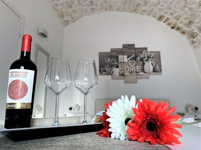 Photo for Luxury Suite in the historical old town of Ostuni