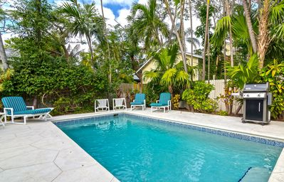Photo for ~ CASABLANCA ~ Gorgeous Cottage w/ Private Pool, Parking, & Tons of Sun!