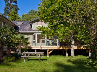 Photo for Charming 3 bedroom house at Chesterman Beach with new Cedar Sauna and Hot Tub