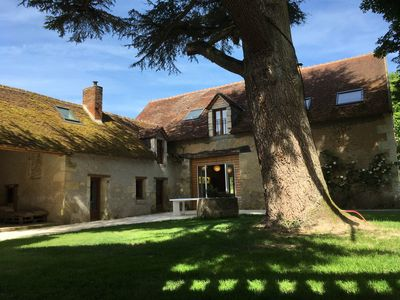 Photo for Cottage for 30 people, 650m2, 12 bedrooms, garden, wood. 10 minutes from Beauval Zoo