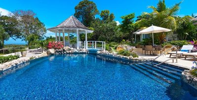 Point of View, 5 bd villa with lily pond and a walk-over bridge on the West Coast