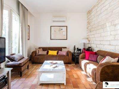 Photo for House with garden, air conditioning and parking in Aiguelongue