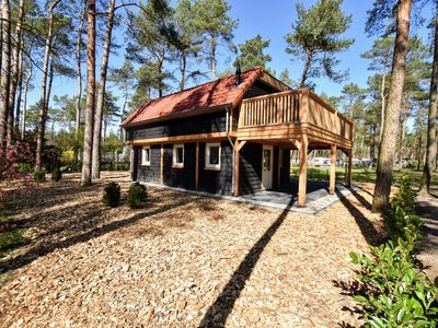 Photo for Magnificent, modern forest villa on the edge of the Veluwe region