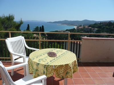 Photo for LAVANDOU - Beautiful sea view! Beautiful terrace.