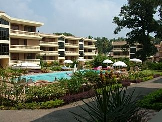Photo for Superb ground floor Apartment in Regal Park, Candolim's most desired Development