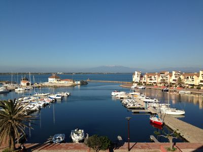 Photo for Cap Coudalere - Beautiful views of the water and the yacht marina. Beach. Children