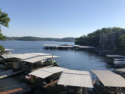 Photo for Cozy Waterfront Home, Private Boat Dock, Large Open Rooms, Boat also available!
