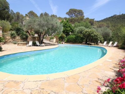 Photo for Luxury villa in Ceyreste on the bay of La Ciotat, pool, pet admited