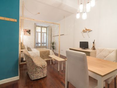 Photo for Studio apartment in the center of Málaga with Lift, Washing machine, Air conditioning (549033)