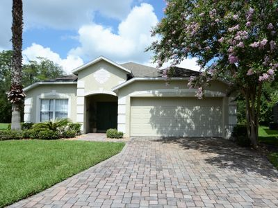 Photo for 4 Bedroom Orlando/Disney area Vacation Home with Games Room, Outdoor Spa, Conservation View & FREE WIFI!