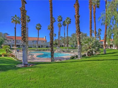 Photo for DU600 - Desert Falls CC - Upper Unit with Pool Views!
