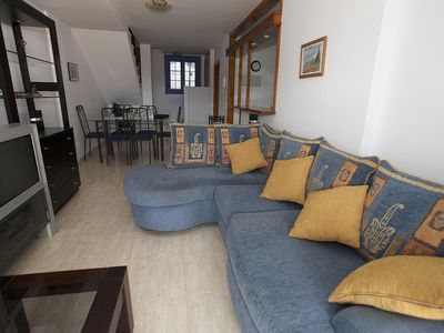 Photo for Beautiful duplex in Costa Teguise with terrace. Free WiFi (ADSL modem)