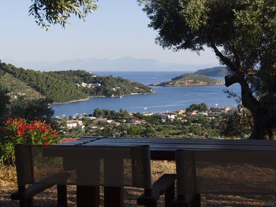 Photo for VILLAS ZOE, APARTMENT, Spectacular Views, Privacy, Peaceful Location