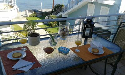 Breakfast at the veranda