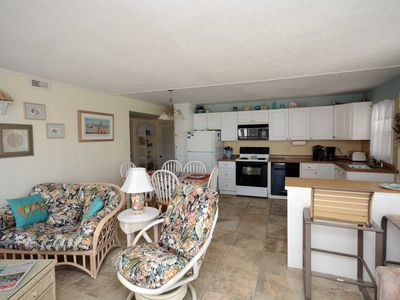 Photo for Traditional 3-bedroom condo with free WiFi located midtown on the oceanside and just steps to the beach!