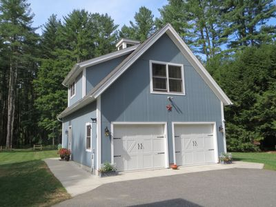 Carriage House in Summer