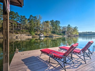 Photo for NEW! Hot Springs Home on Lake Hamilton Waterfront