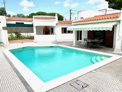 Photo for CASA RUSTICA .TERREA.  POOL . 6 KMS OF BEACHES. WI-FI. CABLE TV