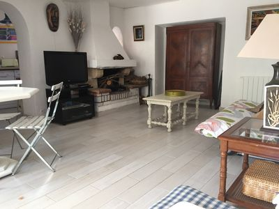 Photo for Neighborhood Mourillon - Furnished with charm of 60 m2 on the ground floor of a fisherman's house