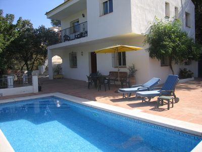 Photo for Secluded 3 bed villa with WiFi and private pool set in beautiful countryside