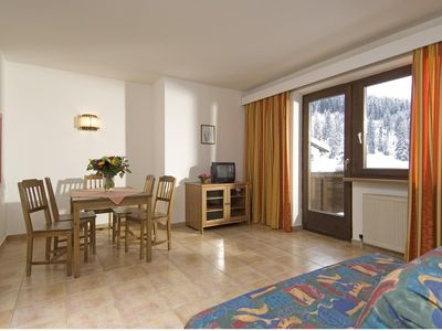 Photo for Holiday apartment over an après ski bar