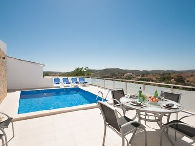 Photo for 3 bedroom Villa, sleeps 6 in Vale de Lama with Pool, Air Con and WiFi