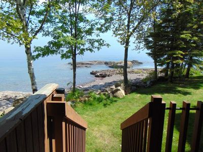 Photo for Two Story Sea Villa on Lake Superior - I6