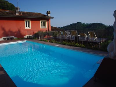 Photo for Fabulous Villa between Art and Nature. Large patio and extraordinary pool
