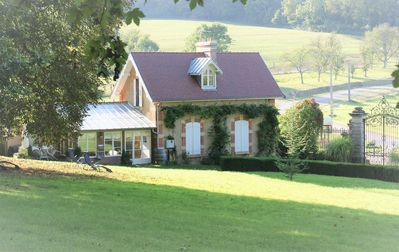 Photo for Cottage **** in the park 6 hectares of Chateau de la Presle