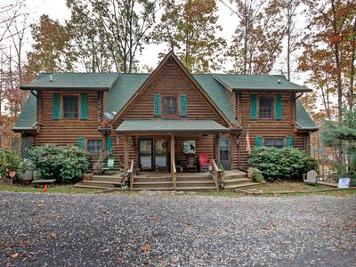Photo for Spacious Log Cabin on Lake Norman Great off Season Rates!!!!