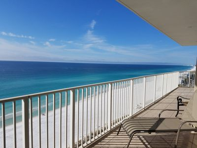 Incredible view from our 40 ft balcony!